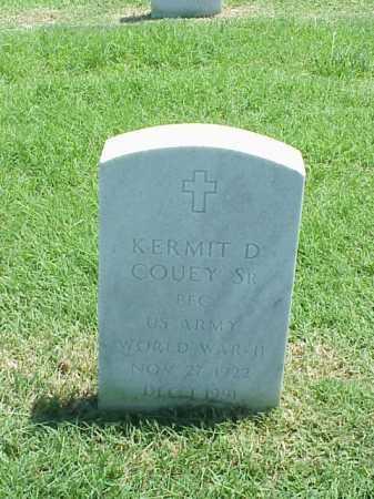 COUEY, SR (VETERAN WWII), KERMIT D - Pulaski County, Arkansas | KERMIT D COUEY, SR (VETERAN WWII) - Arkansas Gravestone Photos