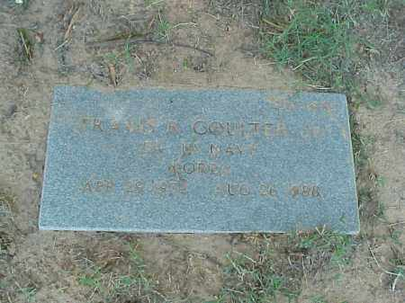 COULTER, JR (VETERAN KOR), TRAVIS R - Pulaski County, Arkansas | TRAVIS R COULTER, JR (VETERAN KOR) - Arkansas Gravestone Photos