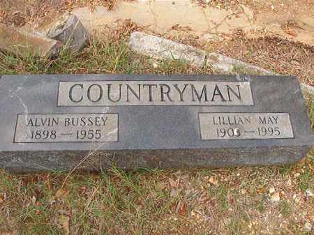 COUNTRYMAN, ALVIN BUSSEY - Pulaski County, Arkansas | ALVIN BUSSEY COUNTRYMAN - Arkansas Gravestone Photos