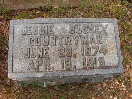 BUSSEY COUNTRYMAN, JESSIE - Pulaski County, Arkansas   JESSIE BUSSEY COUNTRYMAN - Arkansas Gravestone Photos