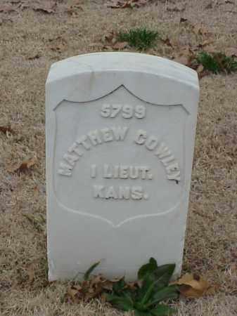 COWLEY (VETERAN UNION), MATTHEW - Pulaski County, Arkansas   MATTHEW COWLEY (VETERAN UNION) - Arkansas Gravestone Photos