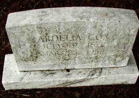 COX, ARDELIA - Pulaski County, Arkansas   ARDELIA COX - Arkansas Gravestone Photos