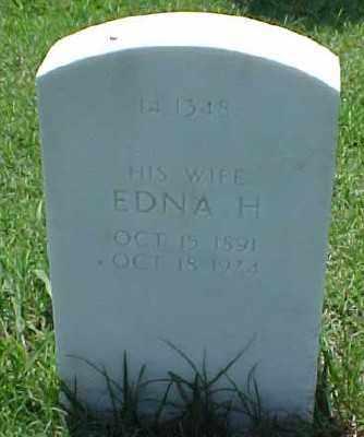 COX, EDNA H. - Pulaski County, Arkansas   EDNA H. COX - Arkansas Gravestone Photos