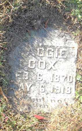 COX, MAGGIE - Pulaski County, Arkansas | MAGGIE COX - Arkansas Gravestone Photos
