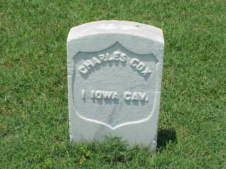 COX (VETERAN UNION), CHARLES - Pulaski County, Arkansas | CHARLES COX (VETERAN UNION) - Arkansas Gravestone Photos
