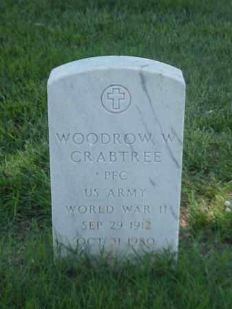 CRABTREE (VETERAN WWII), WOODROW W - Pulaski County, Arkansas | WOODROW W CRABTREE (VETERAN WWII) - Arkansas Gravestone Photos