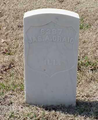 GRAIG (VETERAN UNION), JAMES A - Pulaski County, Arkansas   JAMES A GRAIG (VETERAN UNION) - Arkansas Gravestone Photos