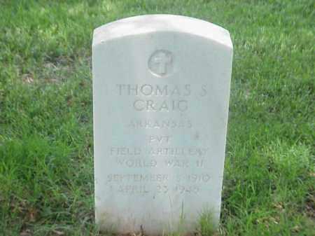 CRAIG (VETERAN WWII), THOMAS S - Pulaski County, Arkansas | THOMAS S CRAIG (VETERAN WWII) - Arkansas Gravestone Photos