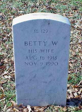 CRAMER, BETTY W - Pulaski County, Arkansas | BETTY W CRAMER - Arkansas Gravestone Photos