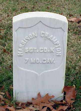 CRAMPTON (VETERAN UNION), HARRISON - Pulaski County, Arkansas | HARRISON CRAMPTON (VETERAN UNION) - Arkansas Gravestone Photos