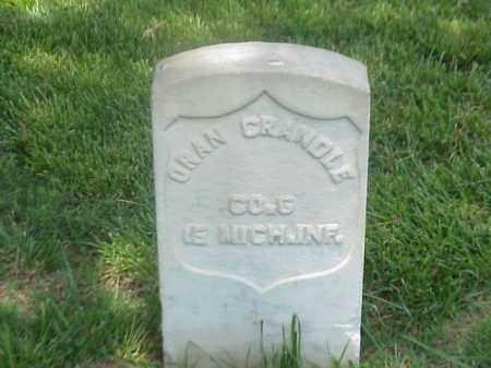 CRANDLE (VETERAN UNION), ORAN - Pulaski County, Arkansas | ORAN CRANDLE (VETERAN UNION) - Arkansas Gravestone Photos