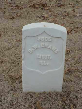 CRANE (VETERAN UNION), D W - Pulaski County, Arkansas | D W CRANE (VETERAN UNION) - Arkansas Gravestone Photos