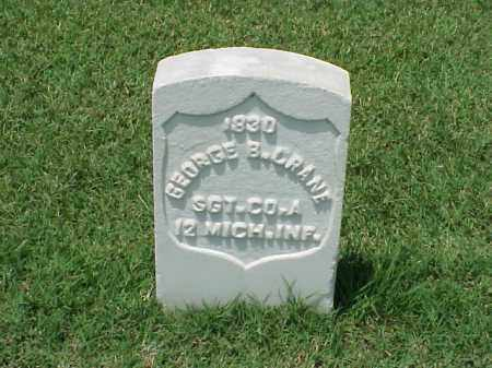 CRANE (VETERAN UNION), GEORGE B - Pulaski County, Arkansas | GEORGE B CRANE (VETERAN UNION) - Arkansas Gravestone Photos