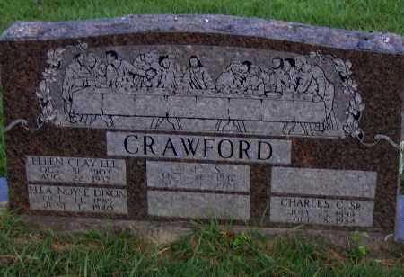 LEE CRAWFORD, ELLEN CLAY - Pulaski County, Arkansas | ELLEN CLAY LEE CRAWFORD - Arkansas Gravestone Photos