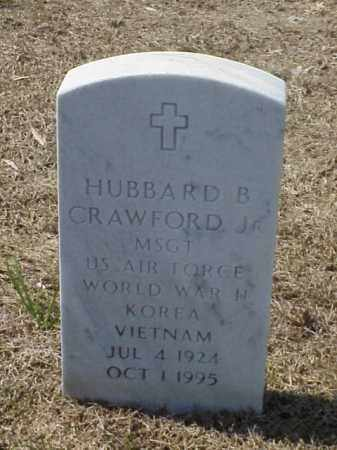 CRAWFORD, JR (VETERAN 3 WARS), HUBBARD B - Pulaski County, Arkansas   HUBBARD B CRAWFORD, JR (VETERAN 3 WARS) - Arkansas Gravestone Photos