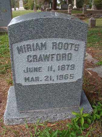 CRAWFORD, MIRIAM - Pulaski County, Arkansas | MIRIAM CRAWFORD - Arkansas Gravestone Photos