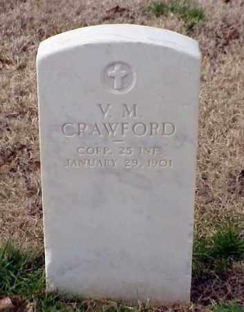 CRAWFORD (VETERAN SAW), V M - Pulaski County, Arkansas   V M CRAWFORD (VETERAN SAW) - Arkansas Gravestone Photos