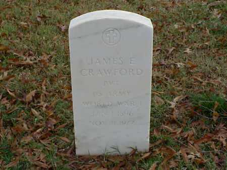 CRAWFORD (VETERAN WWI), JAMES E - Pulaski County, Arkansas | JAMES E CRAWFORD (VETERAN WWI) - Arkansas Gravestone Photos