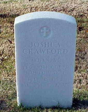 CRAWFORD (VETERAN WWI), JOSHUA - Pulaski County, Arkansas | JOSHUA CRAWFORD (VETERAN WWI) - Arkansas Gravestone Photos
