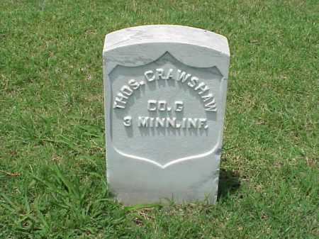CRAWSHAW (VETERAN UNION), THOMAS - Pulaski County, Arkansas | THOMAS CRAWSHAW (VETERAN UNION) - Arkansas Gravestone Photos