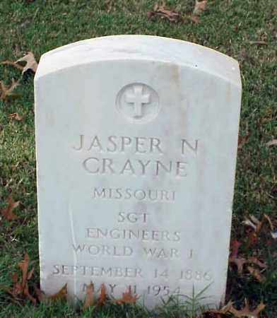 CRAYNE (VETERAN WWI), JASPER N - Pulaski County, Arkansas   JASPER N CRAYNE (VETERAN WWI) - Arkansas Gravestone Photos