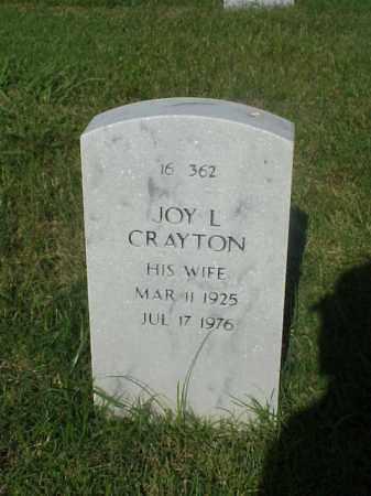 CRAYTON, JOY L - Pulaski County, Arkansas | JOY L CRAYTON - Arkansas Gravestone Photos