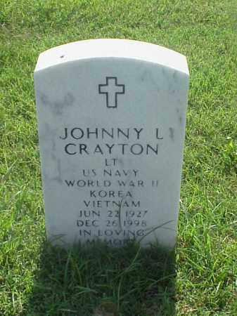 CRAYTON (VETERAN 3 WARS), JOHNNY L - Pulaski County, Arkansas | JOHNNY L CRAYTON (VETERAN 3 WARS) - Arkansas Gravestone Photos