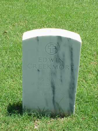 CREEKMORE (VETERAN WWII), EDWIN - Pulaski County, Arkansas   EDWIN CREEKMORE (VETERAN WWII) - Arkansas Gravestone Photos