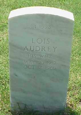 CREEMER, LOIS AUDREY - Pulaski County, Arkansas | LOIS AUDREY CREEMER - Arkansas Gravestone Photos