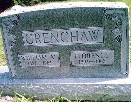 CRENCHAW, WILLIAM M. - Pulaski County, Arkansas | WILLIAM M. CRENCHAW - Arkansas Gravestone Photos