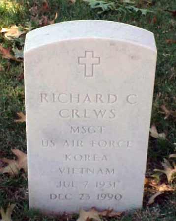 CREWS (VETERAN 2 WARS), RICHARD C - Pulaski County, Arkansas | RICHARD C CREWS (VETERAN 2 WARS) - Arkansas Gravestone Photos