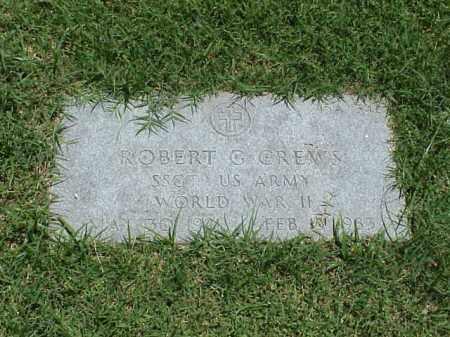 CREWS (VETERAN WWII), ROBERT G - Pulaski County, Arkansas | ROBERT G CREWS (VETERAN WWII) - Arkansas Gravestone Photos
