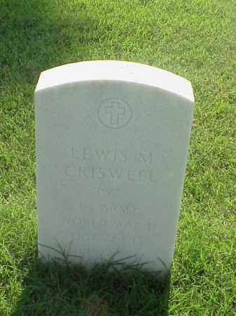 CRISWELL (VETERAN WWII), LEWIS M - Pulaski County, Arkansas | LEWIS M CRISWELL (VETERAN WWII) - Arkansas Gravestone Photos