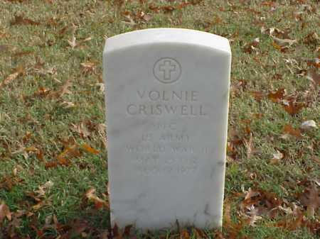 CRISWELL (VETERAN WWII), VOLNIE - Pulaski County, Arkansas | VOLNIE CRISWELL (VETERAN WWII) - Arkansas Gravestone Photos