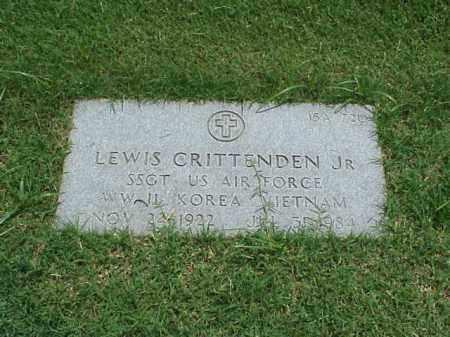 CRITTENDEN, JR  (VETERAN 3 WAR, LEWIS - Pulaski County, Arkansas   LEWIS CRITTENDEN, JR  (VETERAN 3 WAR - Arkansas Gravestone Photos