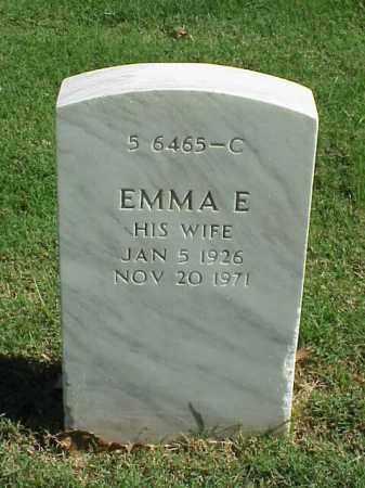 CROOK, EMMA E - Pulaski County, Arkansas   EMMA E CROOK - Arkansas Gravestone Photos