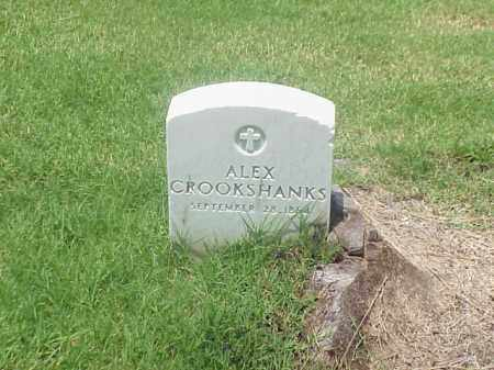 CROOKSHANKS, ALEX - Pulaski County, Arkansas | ALEX CROOKSHANKS - Arkansas Gravestone Photos