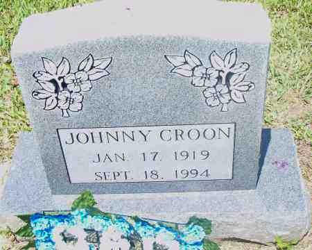 CROON, JOHNNY - Pulaski County, Arkansas | JOHNNY CROON - Arkansas Gravestone Photos