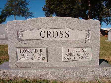 CROSS, I LOUISE - Pulaski County, Arkansas | I LOUISE CROSS - Arkansas Gravestone Photos
