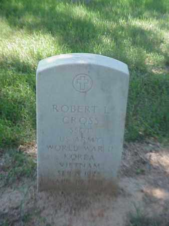 CROSS (VETERAN 3 WARS), ROBERT L - Pulaski County, Arkansas   ROBERT L CROSS (VETERAN 3 WARS) - Arkansas Gravestone Photos