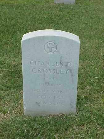 CROSSLEY (VETERAN WWII), CHARLES D - Pulaski County, Arkansas   CHARLES D CROSSLEY (VETERAN WWII) - Arkansas Gravestone Photos