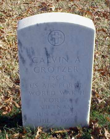 CROTZER (VETERAN 3 WARS), CALVIN A - Pulaski County, Arkansas | CALVIN A CROTZER (VETERAN 3 WARS) - Arkansas Gravestone Photos