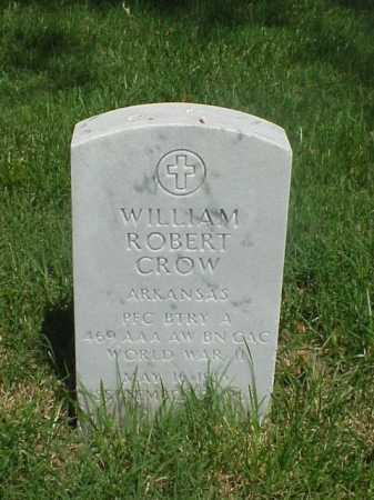 CROW (VETERAN WWII), WILLIAM ROBERT - Pulaski County, Arkansas   WILLIAM ROBERT CROW (VETERAN WWII) - Arkansas Gravestone Photos