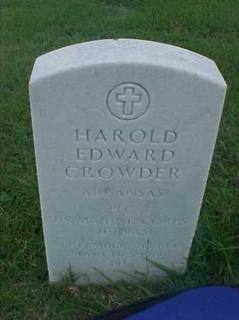 CROWDER (VETERAN VIET), HAROLD EDWARD - Pulaski County, Arkansas | HAROLD EDWARD CROWDER (VETERAN VIET) - Arkansas Gravestone Photos