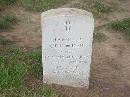 CROWDER (VETERAN WWII), JAMES B - Pulaski County, Arkansas   JAMES B CROWDER (VETERAN WWII) - Arkansas Gravestone Photos