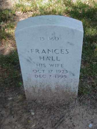 CRUM, FRANCES HALL - Pulaski County, Arkansas | FRANCES HALL CRUM - Arkansas Gravestone Photos