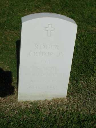 CRUMP, JR (VETERAN WWII), ROGER - Pulaski County, Arkansas | ROGER CRUMP, JR (VETERAN WWII) - Arkansas Gravestone Photos