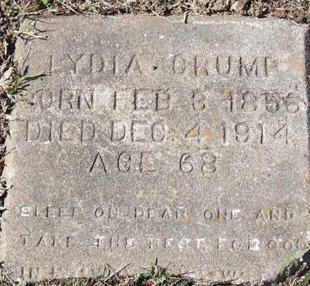 CRUMP, LYDIA - Pulaski County, Arkansas | LYDIA CRUMP - Arkansas Gravestone Photos