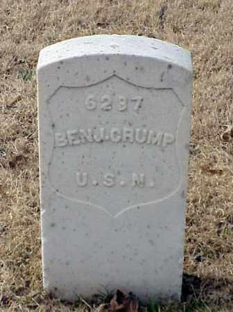 CRUMP (VETERAN UNION), BENJAMIN - Pulaski County, Arkansas | BENJAMIN CRUMP (VETERAN UNION) - Arkansas Gravestone Photos