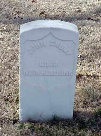 CRUMP (VETERAN UNION), JOHN - Pulaski County, Arkansas   JOHN CRUMP (VETERAN UNION) - Arkansas Gravestone Photos